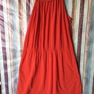Hurley orange dress